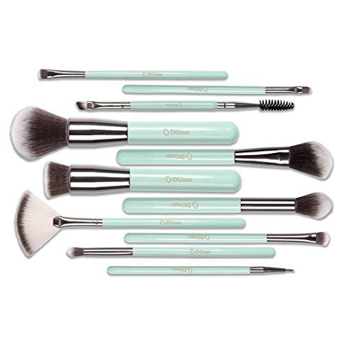 Cwenjing 7 Pcs Kabuki Brush Foundation Brush Blush Brush Crayon À Sourcils Sourcil Brush Outil De Maquillage Idéal pour cadeau
