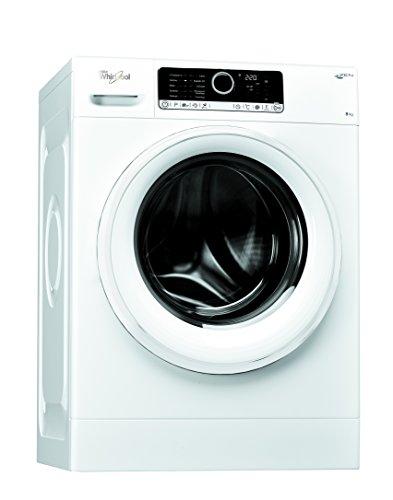 Whirlpool FSCRBG80411 Libera installazione Carica frontale 8kg 1400Giri/min A+++ Bianco lavatrice
