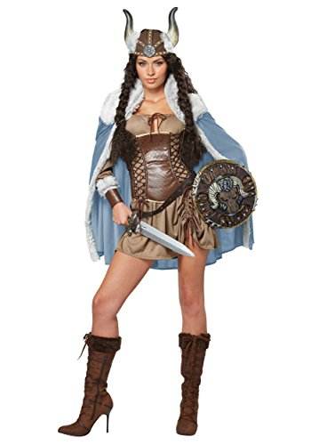 California Costumes CS929616/M Viking Kostüm für Erwachsene, Braun, m