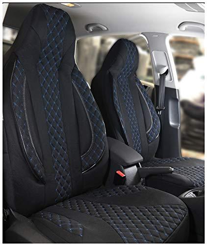 Fundas de asiento compatibles con Audi A3 8L conductor y pasajero a partir de 1996 – 2003 FB:PL406