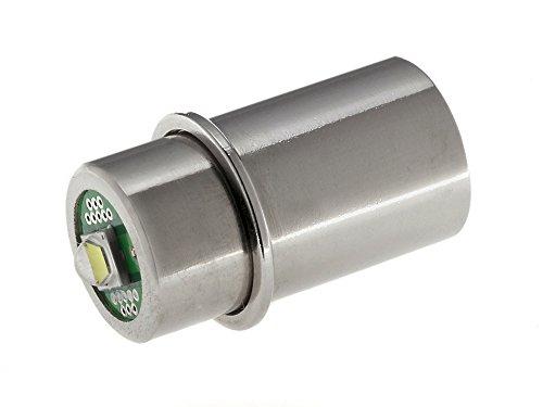Maglite LED Upgrade | LED-Ersatzbirne für Taschenlampe MAG-LITE 3-6 C/D-Cell | TorchLED-MagHV | super hell, 3 Watt, 3,2–9 Volt