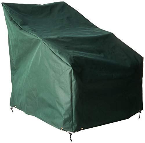 Bosmere Weatherproof Adirondack Cover 33' Wide x 41-1/2' Deep x 43' High at Back, Green