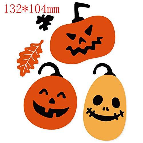 Halloween Pumpkin Castle Metal Cutting Dies Stencil DIY Scrapbooking Card Craft