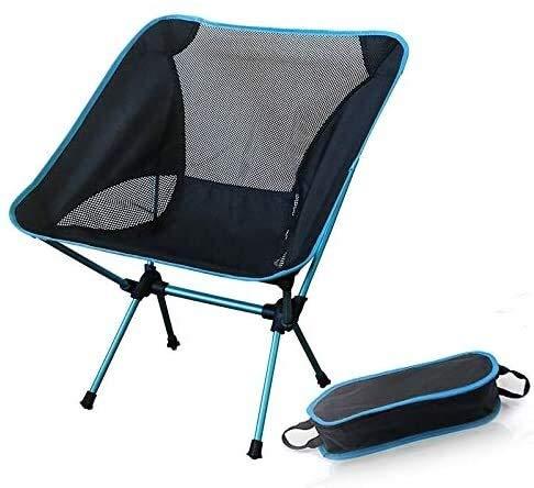 Pêche sac à dos avec siège extérieur Chaise de pêche pliante ultra léger en aluminium Chaise de camping Siège Portable Tabouret for les voyages caravane jardin randonnée pique-niques