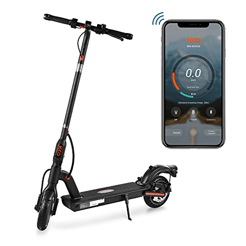"""KKA Electric Scooter for Adults,Pro E Commuting Electric Scooter Long-Range Battery Up to 18 Miles&15.5MPH MAX,Foldable&Portable 8.5"""" Tires E Scooter Electric Adult with Dual Braking System"""