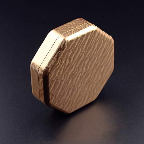 Maniny Tablettenschneider Pillenteiler Tablettenteiler Mit Aufbewahrungsfach Golden
