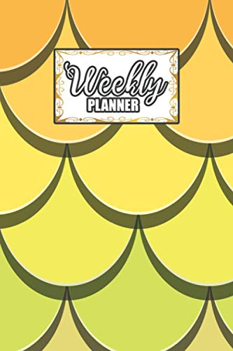 Weekly Planner: Undated Weekly Organiser Daily Scheduler To-do List Non Dated Agenda with password & contact Page for School, Teacher, Student, Home Office, Family, Productivity, Work, Women - 6x9'