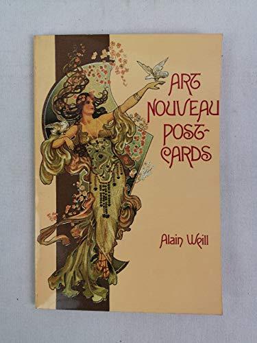 Art Nouveau Postcards. The Posterist Postcards.