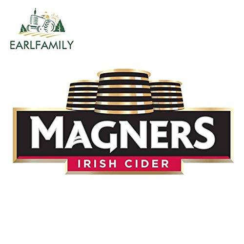 13 cm x 6,2 cm für Magners Irish Cider Logo Lustige Autoaufkleber Vinyl Sonnenschutz RV Van Fine Decal JDM Autozubehör