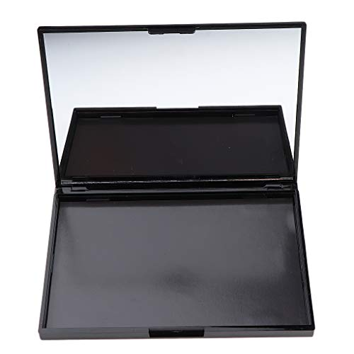 Leere Magnetische Lidschatten Palette Kosmetik Palette Makeup Palette mit Spiegel, schönes Design - Skelettblume
