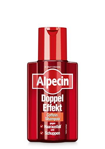 Alpecin 21051 Doppio Effetto Shampoo contro la forfora e perdita di capelli 200 ml