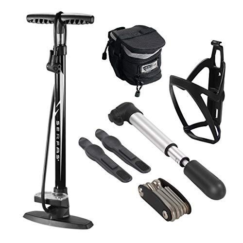 Serfas Combo Kit W/Floor Pump & Mini Pump