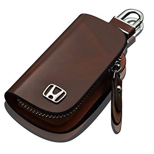 [Apirylovely] ホンダ Honda スマートキーケース キーホルダー キーカバー キーケース レザー 高級レザー製 の車のキーケース 新型 オシャレ スマートキーケース 汚れ 傷防止 落ちにく メンズ レディース 鍵収納 本革の車のキーケースリ