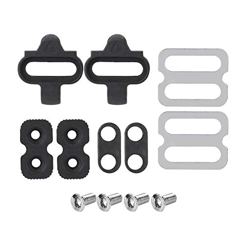 ycle Pedals Cleat Set, Mountain Bike Accessories Cleats Set for SPD Pedals PD-M520 M540 M324 M545 M424 M647 M959
