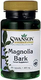 Swanson Magnolia Bark 400 Milligrams 60 Capsules