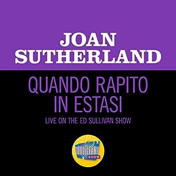 Quando Rapito In Estasi (Live On The Ed Sullivan Show, August 18, 1963)