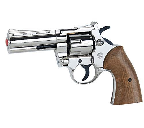 Pistola SCACCIACANI, A Salve, Bruni Magnum 380 NIKEL (BR-700N)