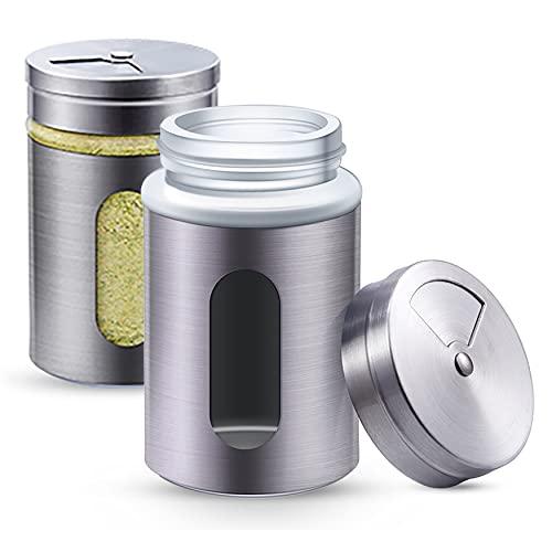 niboline 12 Gewürzdosen Silber I Gewürzstreuer Bild