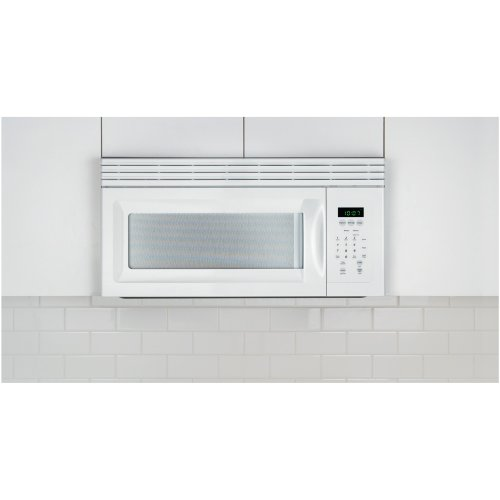 Frigidaire MWV150KW1.5 Cu. Ft. White Over-the-Range Microwave