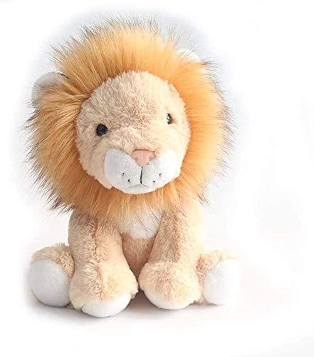 Animales de peluche y juguetes de peluche El león Muñeca de peluche de dibujos animados niños juguete relleno sentado Lion Juguetes Niños Regalo (color: marrón claro), color: marrón claro (color: marr