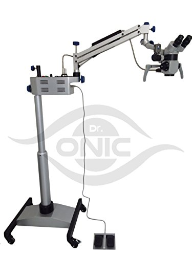 ENT Operating Microscope 3 Step, 45° Binoculars,Floor Type with LED Illumination Dr.Onic