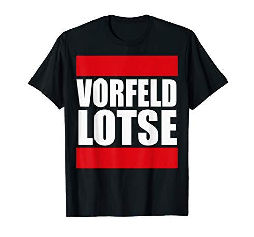 Flughafen Vorfeld Lotse Vorfeldlotse Apron Controller Lotsen T-Shirt