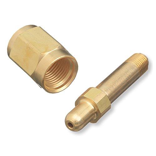 CGA-347 Nut & Nipple, Regulator Inlet Bottle Fittings - Air/High Pressure