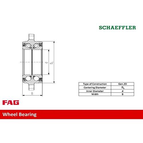 FAG 713678900-FAG Radlagersatz