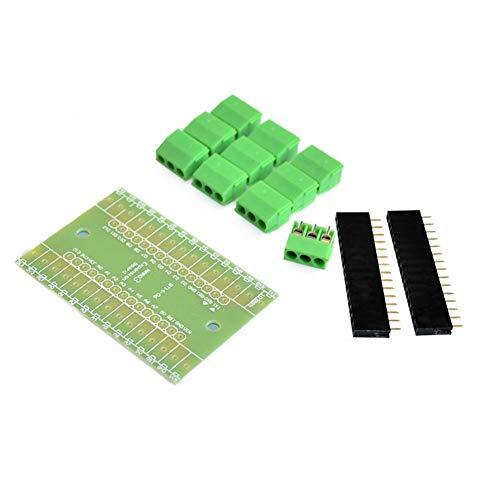 Nano Controller 10pcs NANO 3.0 controller Terminal Adapter for NANO terminal expansion board for arduino Nano version 3.0 in stock (Color : 10pcs)