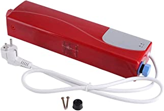 Elektrische mini-doorstroomverwarmer, automatische mini-doorstroomverwarmer, waterverwarming, voor keuken, badkamer, 220 ...