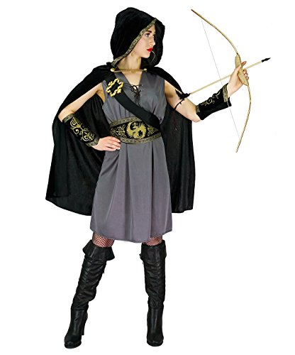 SEA HARE Disfraz de Cazadora con Capucha Mujer (L)