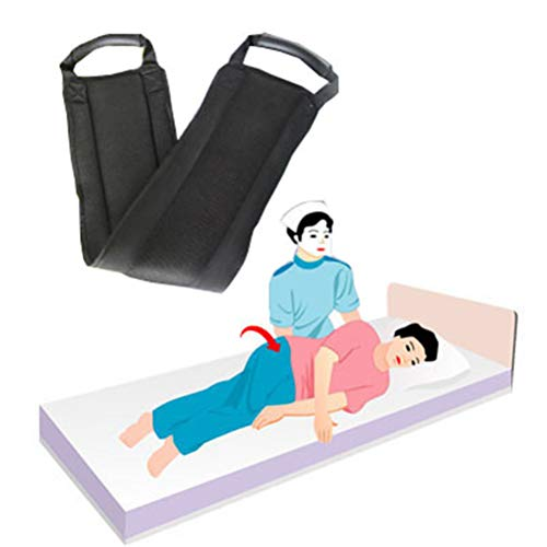 Dbtxwd Medizinischer Transfergurt, gepolsterte, Rutschfeste, sicherere Übertragung von Heben, Auto, Rollstuhl und Bett
