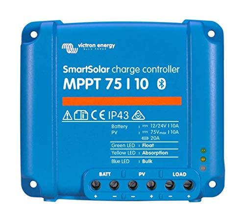 Victron Energy - Smartsolar Contrôleur de Charge MPPT 75/10 75Voc 10A Victron Energy - SCC075010060R