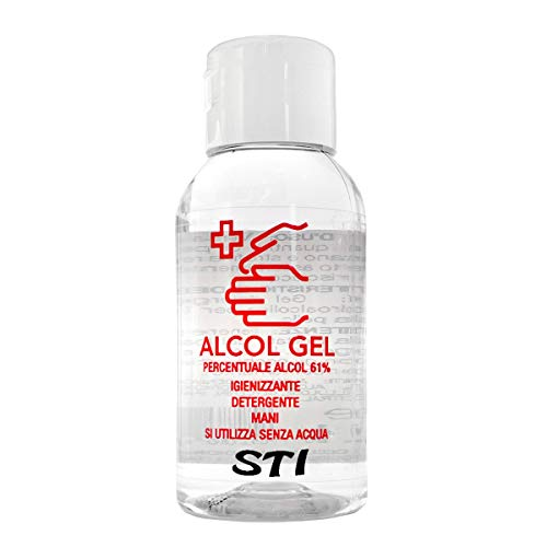 Gel Lavamani Igienizzante istantaneo Senza Acqua Stick 500ml a base alcolica al 75% dispenser Elimina 99%
