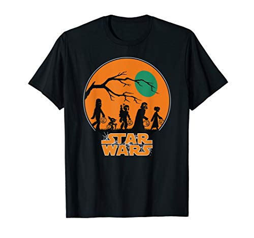 Star Wars Characters Trick Or Treat Halloween T-Shirt