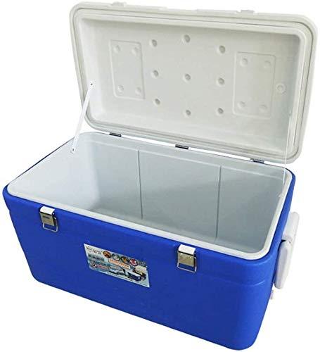 YZHM Nevera de 95 litros, para congelador, incubador, caja de comida rápida, contenedor de fondo, carrete de pesca y playa con ruedas