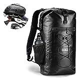 Zaino impermeabile per moto borsa asciutta - 45L dry bag Borse backpack sacca snowboard da uomo per attività Acqua Nave, Trekking, Kayak, Canoa, Pesca, Rafting, Nuoto, Campeggio, Sci