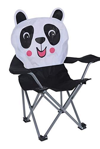 Meinposten. Campingstuhl für Kinder Klappstuhl Gartenstuhl Kind Klappsessel Kinderklappstuhl (Pandabär)
