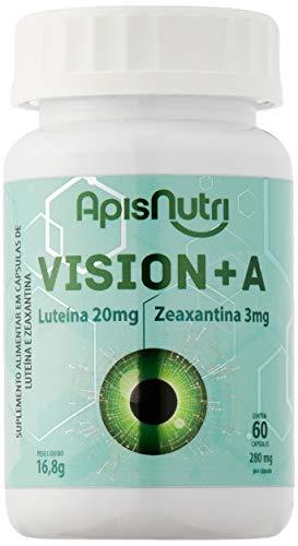 Vision + A Luteína 20mg - Zeaxantina 3mg (60 caps) - Único, Apisnutri