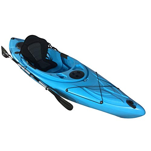 Cambridge Kayaks ES, Herring Azul Kayak DE Paseo Y Pesca, RIGIDO,