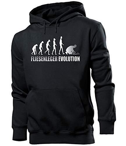 Golebros Fliesenleger Evolution Herren Männer Hoodie Kapuzen Pullover Sweatshirt Pulli Artikel Geschenke Geburtstag Arbeitskleidung zubehör Berufsbekleidung Oberteil Kleidung Outfit ausrüstung