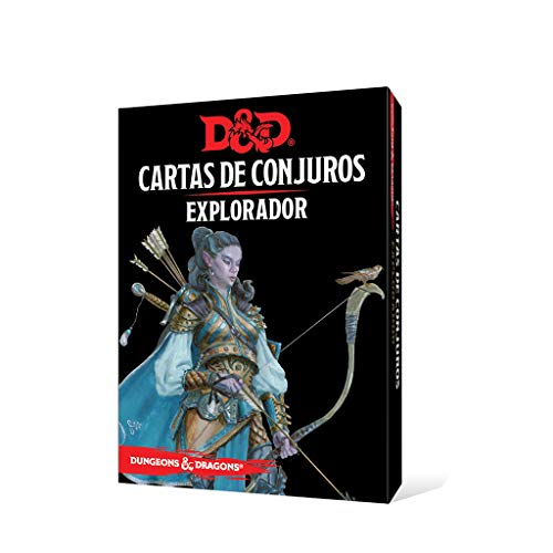 Dungeons & Dragons- Dungeons and Dragons: Explorador - Cartas de Conjuros - Castellano, Color (Edge Entertainment EEWCDD87)