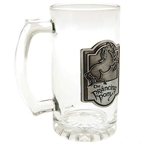 The Lord Of The Rings El Señor de los Anillos - Jarra de cerveza (Talla Única) (Plata)