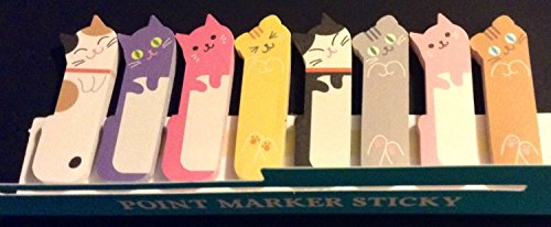 1 X 240 Sheets Cute Kitten Kitty Cat Animal Sticker Bookmark Marker Memo Flags Index Tab Sticky Notes