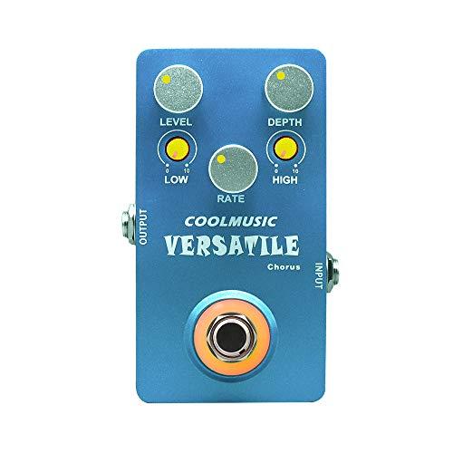 Coolmusic C-CH02 Versatile Chorus Guitar Effect Pedal Pure Analog True Bypass