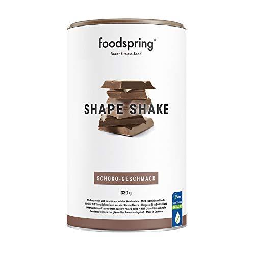 foodspring Shape Shake, Cioccolato, 330g, Proteine per raggiungere la tua forma perfetta, 67% di proteine del siero del latte