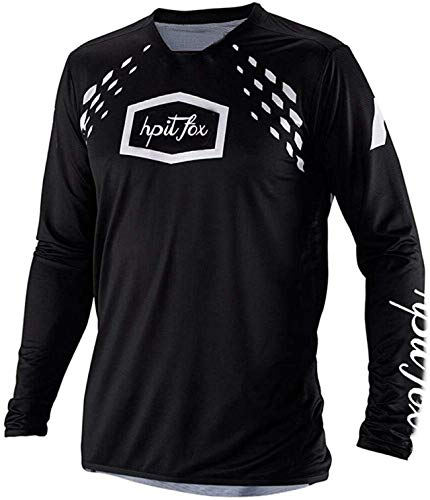 Maillot MTB Hombre Fox Manga Larga Motorcycle Downhill Jersey DH Long-Sleeved Jersey...