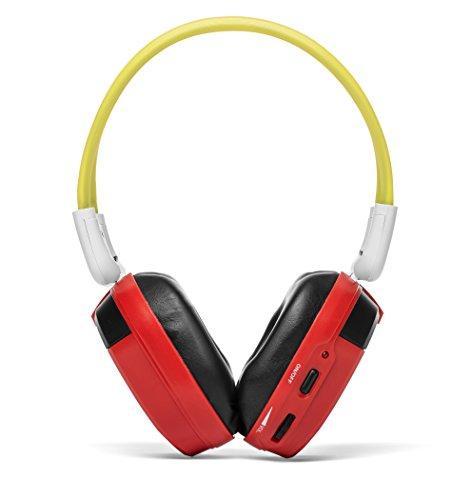 Bravo View IH-06A - KID FRIENDLY Automotive IR Wireless Headphones (Single Source)