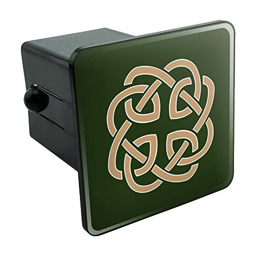 Graphics and More Celtic Knot Love Eternity Tow Trailer Hitch Cover Plug Insert 2'