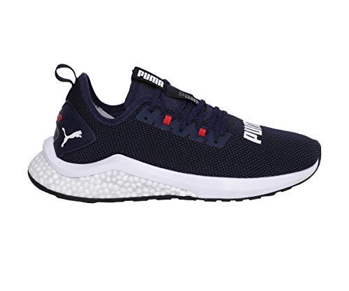 Puma Hybrid NX, Zapatillas de Running Hombre, Azul (Peacoat-High Risk Red White), 43 EU